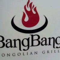 Photo taken at BangBang Mongolian Grill by Todd J. on 10/22/2011
