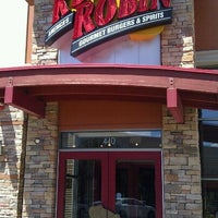 Photo taken at Red Robin Gourmet Burgers by Barbie B. on 8/23/2011