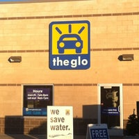 Photo taken at The Glo Car Wash by Noah S. on 1/21/2012