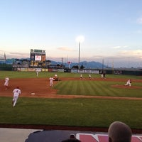 Photo taken at Brent Brown Ballpark by Rob on 7/24/2012