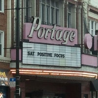 Photo taken at Portage Theater by Justen P. on 11/19/2011