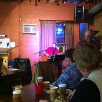 Photo taken at Frederick Coffee Co. & Cafe by Manuel A. on 1/7/2012