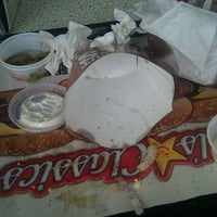 Photo taken at Carl's Jr. / Green Burrito by Trent S. on 8/23/2011