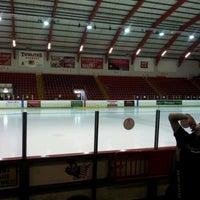 Photo taken at Blackburn Ice Arena by Matt R. on 8/26/2012
