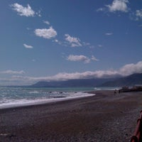 Photo taken at Passeggiata Bordighera-Vallecrosia by Adriano M. on 4/11/2012