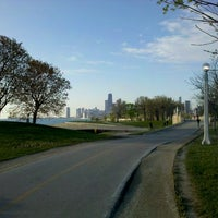 Photo taken at Chicago Lakefront Trail by Dan C. on 4/17/2012