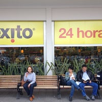 Photo taken at Éxito by Andres B. on 2/18/2012