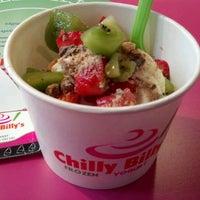 Photo taken at Chilly Billy's Frozen Yogurt by Timmy J. on 9/12/2011