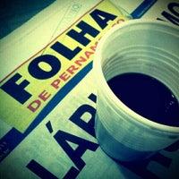 Photo taken at Folha de Pernambuco by Arthur M. on 11/3/2011