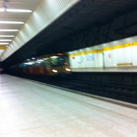 Photo taken at Jesmond Metro Station by Richard C. on 11/12/2011