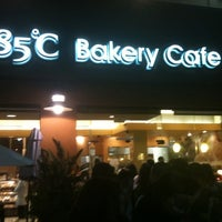 Photo taken at 85°C Bakery Cafe by Bryan Y. on 2/13/2011