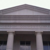 Photo taken at Anderson County Library by Greg A. on 8/27/2011