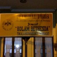 Photo taken at GMIM Kolam Bethesda Tikala Kumaraka by Semmy L. on 10/28/2011