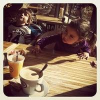 Photo taken at Landwer Café by LinkTree on 11/26/2011