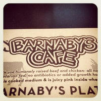 Photo taken at Barnaby's Cafe by Harold i K. on 4/1/2012