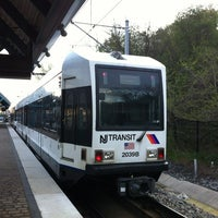 Photo taken at NJT - Port Imperial Light Rail Station by Tom V. on 4/16/2012