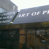 Photo taken at The Art of Pizza by Aaron H. on 3/7/2012