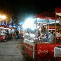 Photo taken at Praca Santos Dumont by Dane G. on 1/21/2012