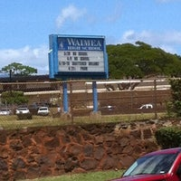 Photo taken at Waimea High School by C.Y. L. on 4/16/2012