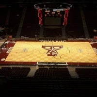 Photo taken at Reed Arena by Kyle F. on 2/28/2012