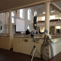 Photo taken at Old South Meeting House by Erin G. on 3/29/2012