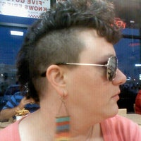 Photo taken at Five Guys by Heather R. on 8/25/2012