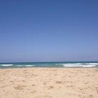 Photo taken at Playa del Tabal_La Manga by AnNika O. on 6/17/2012