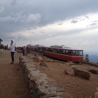 Photo taken at Pikes Peak by Eileen S. on 8/10/2012