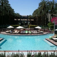 Photo taken at Hyatt Regency Scottsdale Resort and Spa at Gainey Ranch by Tommie M. on 3/29/2012