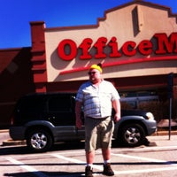 Photo taken at OfficeMax by woofer L. on 3/10/2012