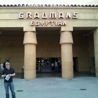 Photo taken at The Egyptian Theatre by Chef M. on 4/22/2012