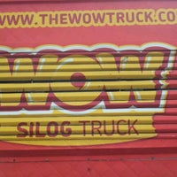 Photo taken at WOW Silog Truck by Bill R. on 3/29/2012