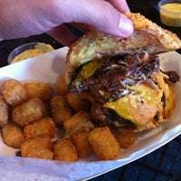 Photo taken at Charm City Burger Company by H Z. on 5/19/2012