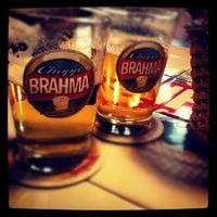 Photo taken at Quiosque da Brahma by Lucas L. on 8/11/2012