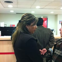 Photo taken at Banco Santander by Fernando V. on 6/14/2012