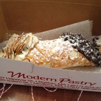 Photo taken at Modern Pastry Shop by Joe P. on 9/3/2012