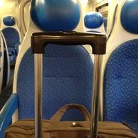 Photo taken at Stazione Caronno Pertusella by Gianluca C. on 7/3/2012