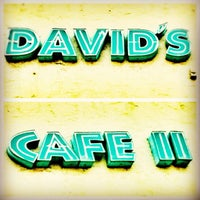 Photo taken at David's Cafe II by Don't Panic M. on 7/26/2012