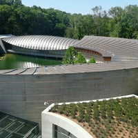 Photo taken at Crystal Bridges Museum of American Art by Brandy B. on 6/18/2012