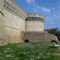 Photo taken at Rocca Roveresca by Nanni P. on 3/21/2012