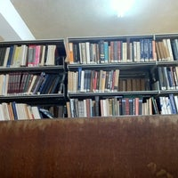 Photo taken at Ugbs Library by Richie G. on 10/12/2011