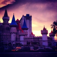 Photo taken at Excalibur Hotel & Casino by Lucas M. on 8/1/2012