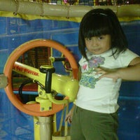 Photo taken at Chipmunks Playland & Cafe by Telly M. on 1/23/2012