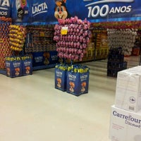 Photo taken at Carrefour by Paulo C. on 3/7/2012