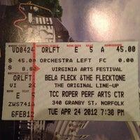 Photo taken at Roper Performing Arts Center - TCC by Sherri S. on 4/24/2012