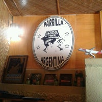 Photo taken at Parrilla Argentina by Gabriel G. on 3/14/2012