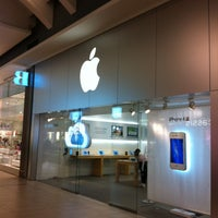 Photo taken at Apple Carrefour Laval by Sullivan T. on 3/15/2012