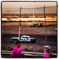 Photo taken at Canyon Speedway by Stephanie B. on 6/17/2012