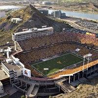 Photo taken at Sun Devil Stadium by Jimmy D. on 12/29/2010
