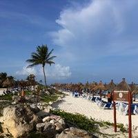 Photo taken at Gran Bahia Principe Tulum by W. S. on 6/28/2012